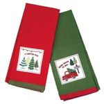 Chistmas Carol Tea Towels